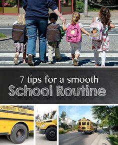 Back-to-School: Parent Tips for Creating a Smooth School Routine for Kids *Great list of suggestions