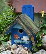 beach theme birdhouses - Bing Images
