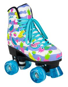 offers cheap rookie flamingo roller skates suitable for children women and ladies to skate on the street. Kids Roller Skates, Roller Derby Girls, Roller Skate Shoes, Quad Skates, Roller Rink, Roller Skating, Rio Roller, Skater Girls, Shoes