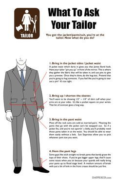 Suit Alteration Guide: What to ask your tailor Via