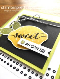 Create a Flagged End with a Classic Label Punch (Mary Fish, Stampin' Pretty The Art of Simple & Pretty Cards) Mary Fish, Birthday Thank You Cards, Stampin Pretty, Stampin Up Catalog, Card Making Inspiration, Pretty Cards, Paper Cards, Stamping Up, Recipe Cards