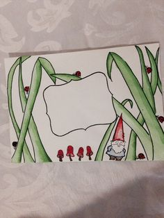 Happy mail - can draw this on an envelope Would be cute with a lady bugs!So going to do this for my next letter to Sofia! Fancy Envelopes, Mail Art Envelopes, Decorated Envelopes, Envelope Lettering, Envelope Art, Envelope Design, Pen Pal Letters, Letter Art, Letter Writing