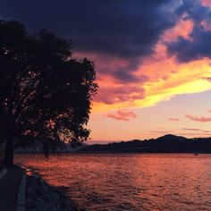 In Kelowna, BC Canada. I See It, Summer Sunset, Summer Nights, Sunsets, Forget, Rest, Canada, Celestial, Outdoor