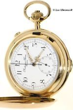 LARGE, 149 GRAM HEAVY AUDEMARS FRERES QUATER REPEATER WITH CHRONOGRAPH 14K GOLD