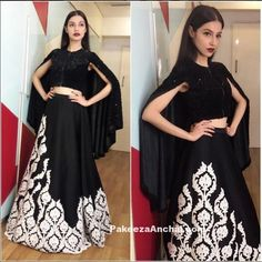 Divya khosla kumar in neeta lulla Pakistani Bridal Wear, Pakistani Dresses, Indian Dresses, Indian Outfits, Celebrity Fashion Outfits, Celebrity Style, Celebrities Fashion, Celebs, Lengha Blouse Designs