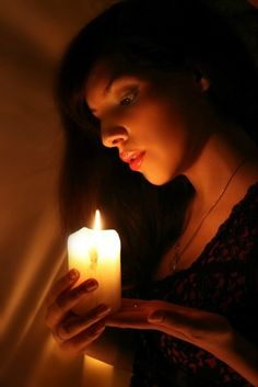 Candle by ~Wintergedanken    The look on her face is amazing!