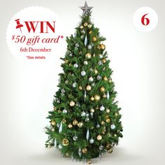 It's not Christmas until you've decorated the tree. And, just like your Christmas food, the tree should be fresh.  You can pick them up at Thomas Dux during December.  Win a 50 dollar Wish Gift Card – the gift that keeps on giving. Simply re-pin and comment for your chance to win.*