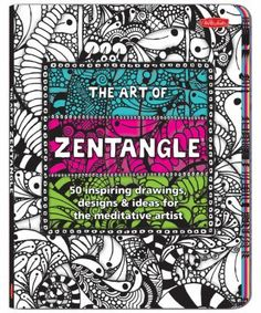 """The Art of Zentangle""  Don't think you can draw? Try this book and learn how you can create beautiful art using very basic shapes. Creative & fun!"