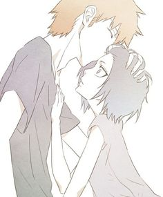 Find images and videos about anime, kawaii and bleach on We Heart It - the app to get lost in what you love. Bleach Ichigo And Rukia, Kuchiki Rukia, Bleach Anime, Boruto, Bleach Couples, Bleach Fanart, Bleach Characters, Another Anime, Kawaii
