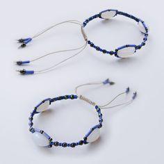 Micro-macrame bracelet