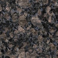 Outdoor Kitchen Granite Countertop - Sapphire Blue Brown with Eased Edge