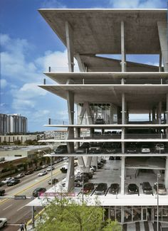 1111 Lincoln Road, Miami Beach, USA - Multi-use Car Park, Shop, Event Space By Herzog and de Meuron