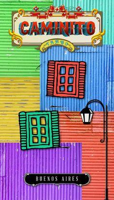 Este colorido callejón museo ubicado en el barrio de La Boca es una visita obligada en tu estadía en Argentina. Encuentra hoteles en Buenos Aires y conoce Caminito. #Caminito #BuenosAires Argentina South America, Deco Paint, Frida Art, Argentina Travel, Vintage Typography, Family Day, Happy Colors, Art Club, Small World