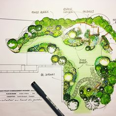 If you live in a dry and arid climate then your desert landscaping is going to take a little more planning than some other parts of the country. desert landscaping will have to work with a plan that includes only plants and trees that Landscape Design Plans, Garden Design Plans, Landscape Architecture Perspective, Architecture Design, Plans Architecture, Landscape Architecture Drawing, Garden Drawing, Drawing Drawing, Landscape Drawings
