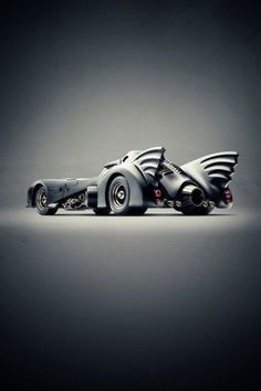 I just can't help it, I would love to have the batmobile...how cool would that be to show up on that car!! :)