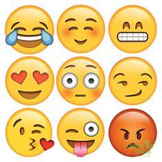 Resultado de imagem para decoração de festa emoji
