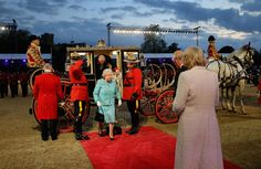The Queen Celebrated Her 90th Birthday With 900 Horses, Celebrities And Family