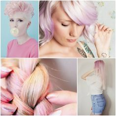 Two Tone Ombre Hair #pink