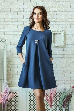 This Pin was discovered by Rox Maternity Gowns, Maternity Fashion, Simple Dresses, Casual Dresses, Women's Casual, Dress Outfits, Fashion Dresses, Frack, Nursing Dress