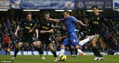 Unstoppable: Frank Lampard scores yet another for Chelsea against Wigan - sign him up
