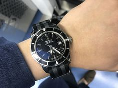 My dream watch, the first and the last watch #breitling super ocean heritage 42 & omega 007 nato strap