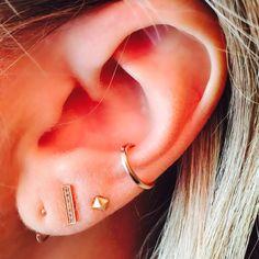 "Earring Game on Instagram: ""@ladygraypix rocking some serious #earringgame #love @melissajoymanning @danarebecca @catbirdnyc"""