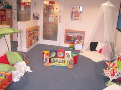 This is a quiet room in a nursery. Stimulating the children we can make this kind of quiet room in nursery so that a child can stay there who does't want to play. rokeya