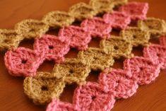 Tutorial: círculos modulares a crochet