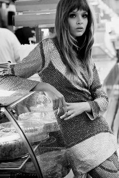 Josephine Skriver by Regan Cameron for Harper's Bazaar UK,