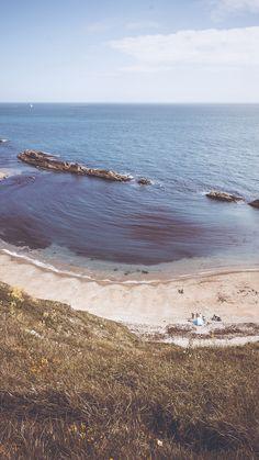 Nature Camping Sea Beach Ocean Rock Mountain iPhone 6 wallpaper