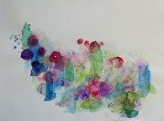 "Saatchi Online Artist Lia Porto; Painting, ""Cactus"" #art"