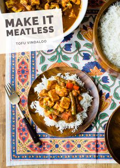 Tofu Vindaloo #vegetarian