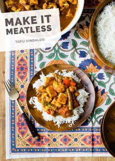 Tofu Vindaloo via www.ohmyveggies.com (Hands down the best vindaloo we've ever had!) #vegan #meatless