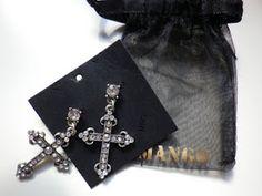 lovely goth earrings