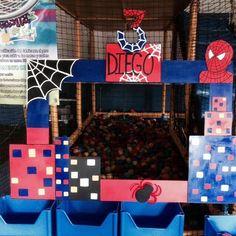 Marcos para fiesta de Spiderman