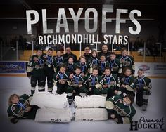 "RichmondHill, Ontario - The RichmondHill Stars Minor Peewee A team just finished their season in second for York Simcoe. This Sunday will be their end of season hockey banquet. They are surprising the other Richmond Hill Stars hockey teams with this music video that the team produced. From Macklemore and Ryan Lewis's hit song ""Downtown"", the team Stars Hockey, Hockey Teams, Hockey World, Richmond Hill, Hit Songs, Getting Out, Banquet, A Team, Ontario"