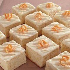 How to make an Orange Sheet Cake with Orange Cream Cheese Icing.