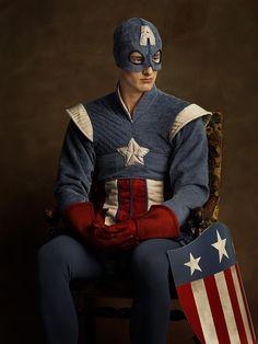 Captain America by Sacha Goldberger