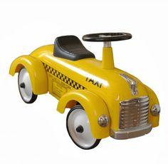 Yellow Roy cab children nursery