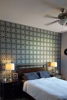 Grab a paint brush, or even a syringe, for these cool bedroom wall ideas. diy | wall decor | diy wall decor | homedecor | home improvement | home update | walls | diy wall decor | diy wall updates | diy home | wall painting | bedroom walls | bedroom | bedroom updates