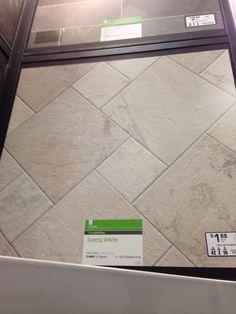 Tile floor design