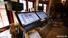 RAVEN DUAL MTX at L.A. mix engineer Mark Needham's studio