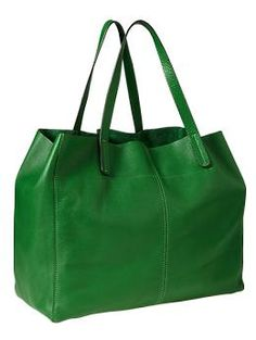 @Tina Collman- tell chen to get this for me for vday or mothers day!!!! Leather tote   Gap