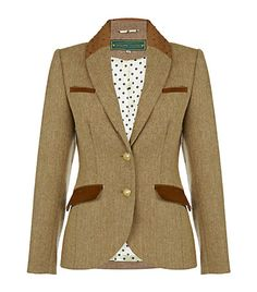 Holland Cooper Herringbone Jacket GASP