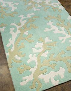 Coastal Lagoon Coral   Teal U0026 Latte Indoor Outdoor Rug | Indoor Outdoor Rugs,  Beach Cottages And Outdoor Rugs