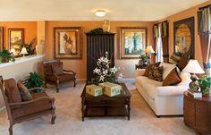 Wooden livingroom design