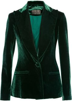 Shop for Velvet Blazer by Cushnie et Ochs at ShopStyle. Now for Sold Out.