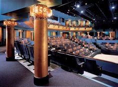 act theater seattle candela lighting went to a christmas carol here