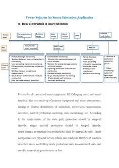 Power solution for smart substation application Circuit, Communication, Life, Communication Illustrations
