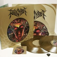 Revocation Self-Titled 2xLP (Metallic Gold) Limited Deluxe Mailorder